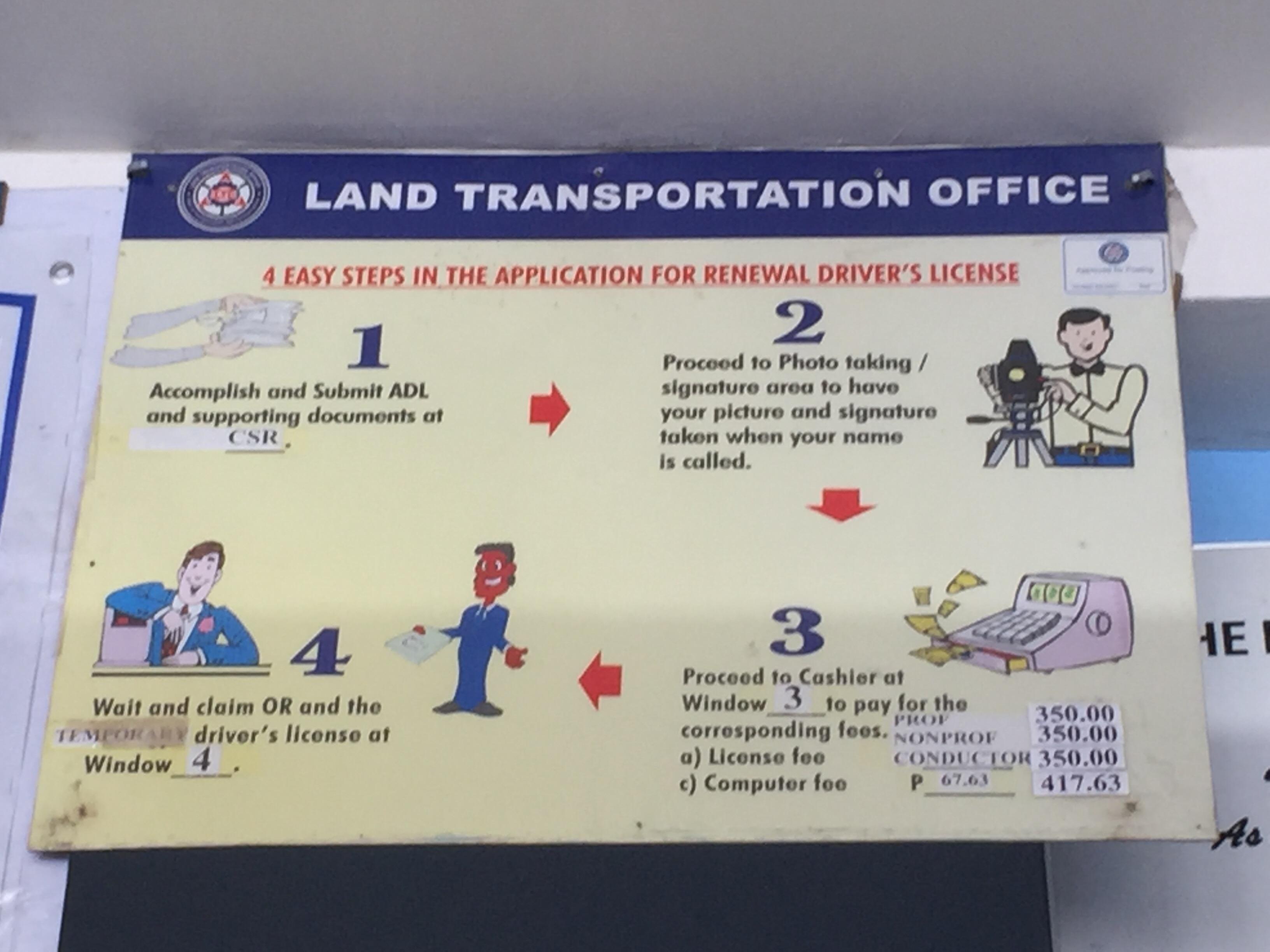 lto student license process